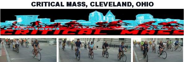 critical mass cleveland banner by Puri
