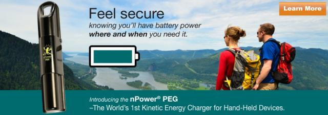 npower peg banner