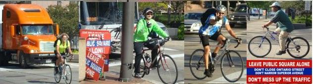 bikes in public square cleveland ohio image by Puri