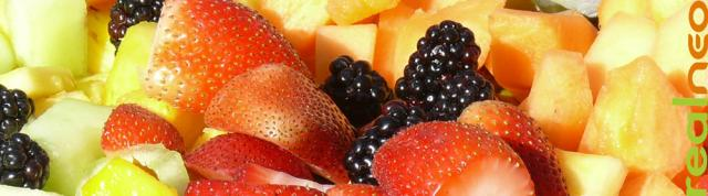 Summer berry, fruit, and melon salad