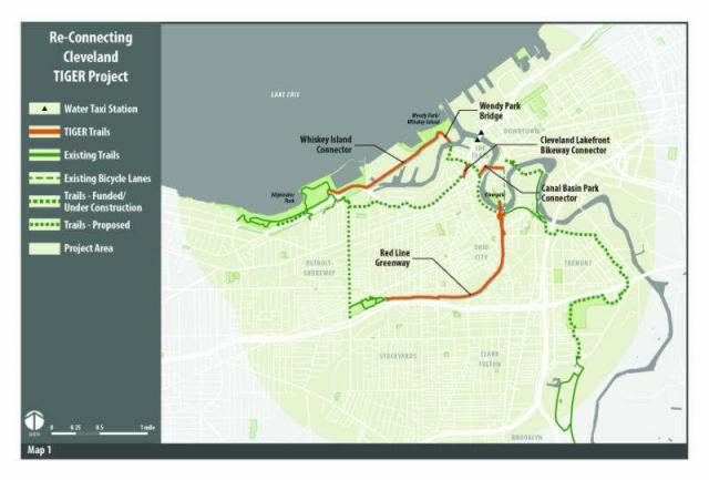 Redline Greenway funded by federal TIGER grant
