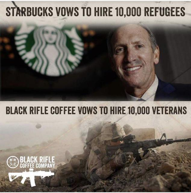 Black Rifle Coffee Company To Hire Veterans