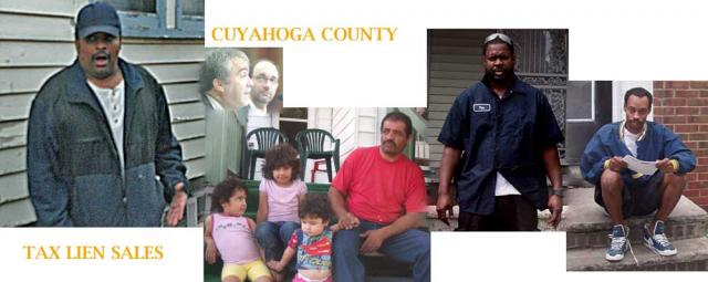 Tax lien sale evictions in Cuyahoga County Ohio
