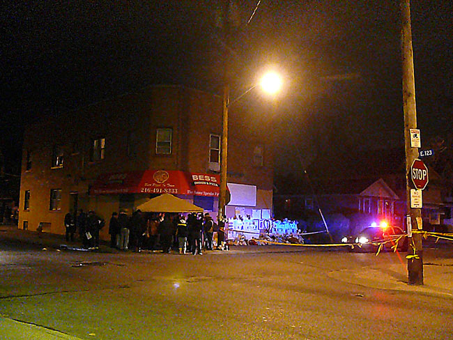 imperial ave with cop cars and black on black Mccoy image jeff buster 11.16.09