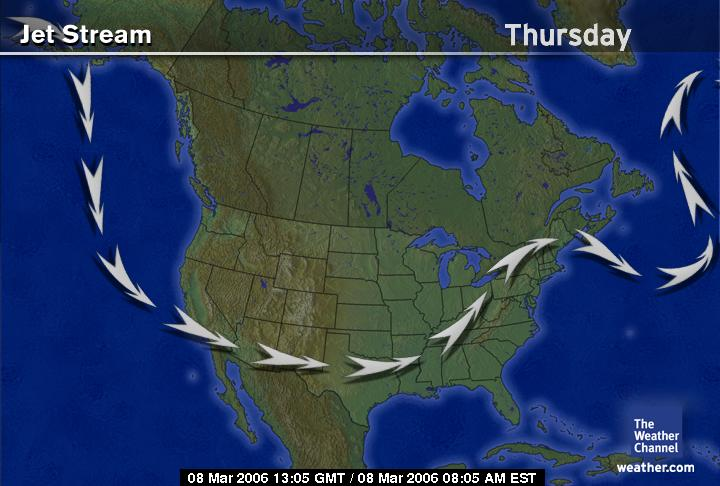 Jet Stream bringing cross-boundary pollution to Ohio