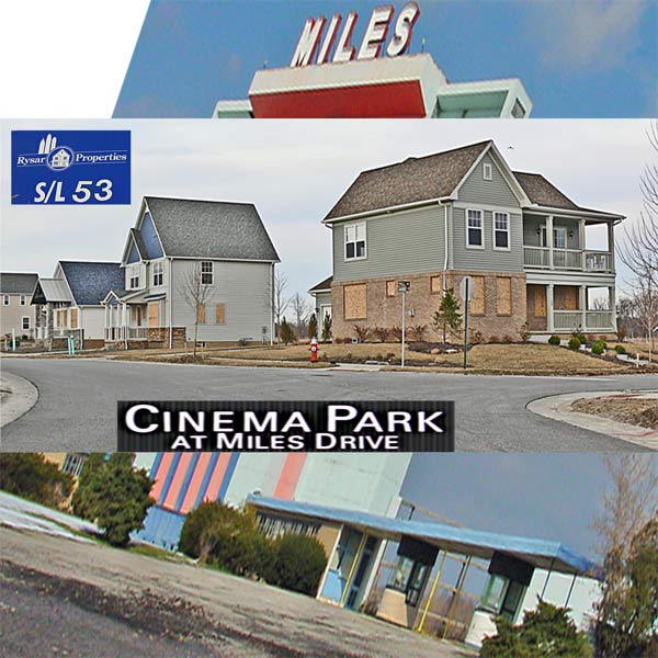MIles Avenue drive in theater rysar properties vacant subdivision cleveland ohio