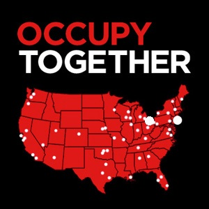national us map occupy wallstreet
