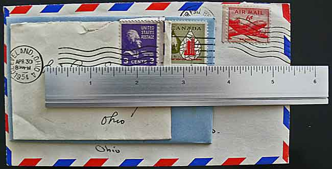 image jeff buster envelope sizes us postal service 1954