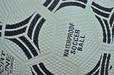 soccer ball hexagonal seams geodesic