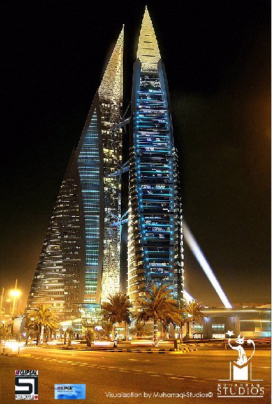 The Finished Bahrain WTC