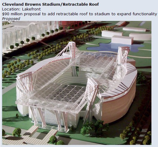 Proposed Browns Stadium Roof