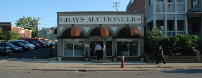 Gray's Auctioneers Opening