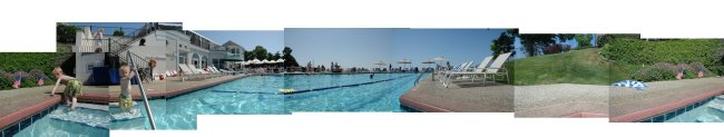 Shoreby Club Pool Pan
