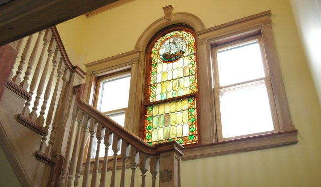 Stained Glass Window 1894 Roxbury East Cleveland Ohio